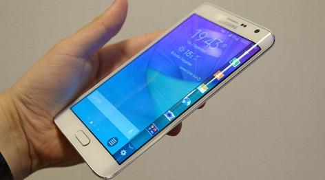 Samsung Smartphone Kembangkan Smartphone Layar Lengkung Galaxy S6 Edge